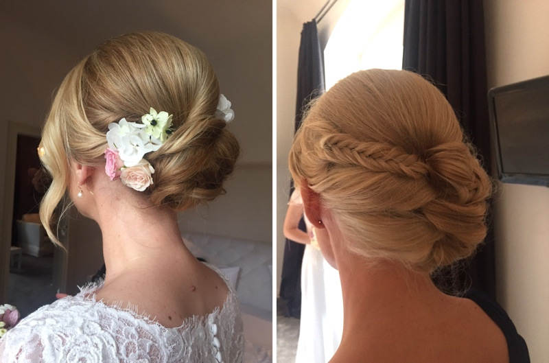 Elegant Bridal Styles from Anja Frankenhäuser, Schminktante - Bräute 2016.