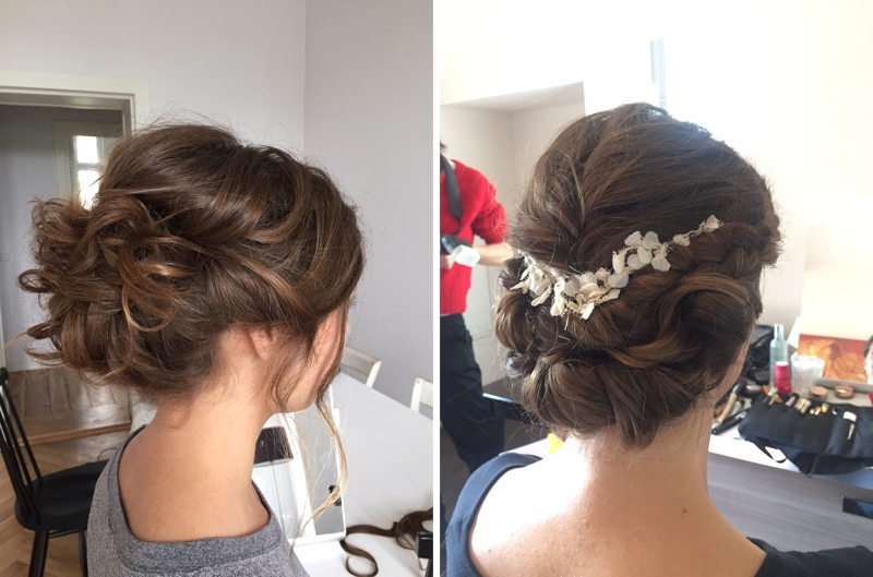 Updo for Bridal Style, Brautfrisuren from Anja Frankenhäuser - Bräute 2016.