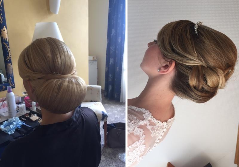 Elegante Brautfrisuren von Make up Artistin Anja Frankenhäuser - Bräute 2016.