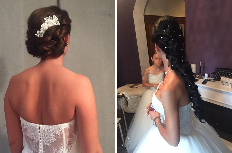 Typgerechte Brautstylings, Brautfrisuren, Bridal Styles from Anja Frankenhäuser