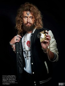 Alek with Curls - Foto-Editorial for New York HUF Magazine