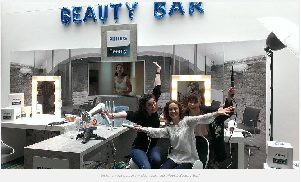 PhilipsBeautyBar, Philips, Presse, PR, Schminktante, Make up Artist, Beautyblogger, Blogger, Beautyblog