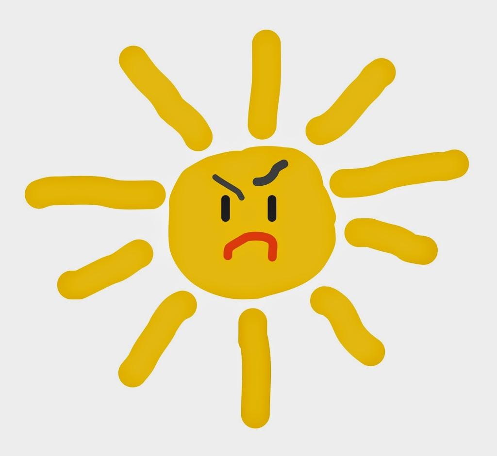 böse Sonne