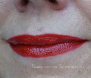 So sieht Tom Ford Scarlett Red auf den Lippen aus