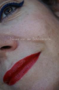 Lippen und Augen MakeUp - Tom Ford Scarlett Red