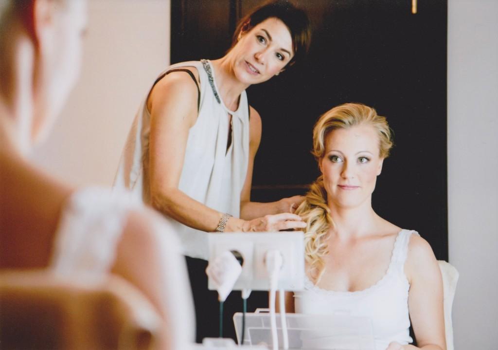 Brautfrisuren und BrautmakeUp by schminktante