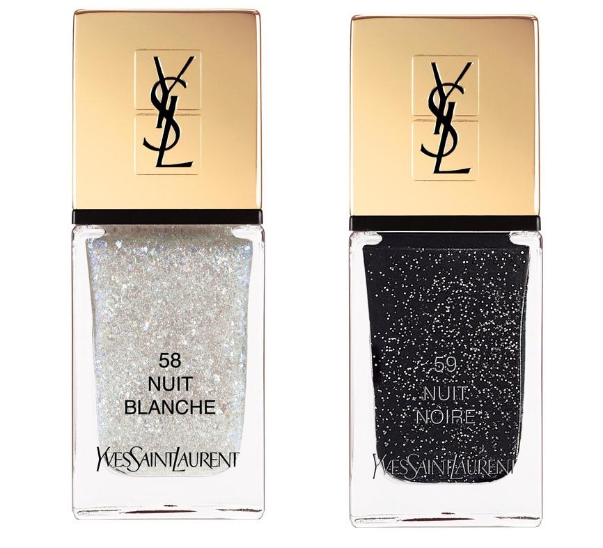 La Laque Couture, 58-Nuit Blanche, 59-Nuit Noir, je 25€