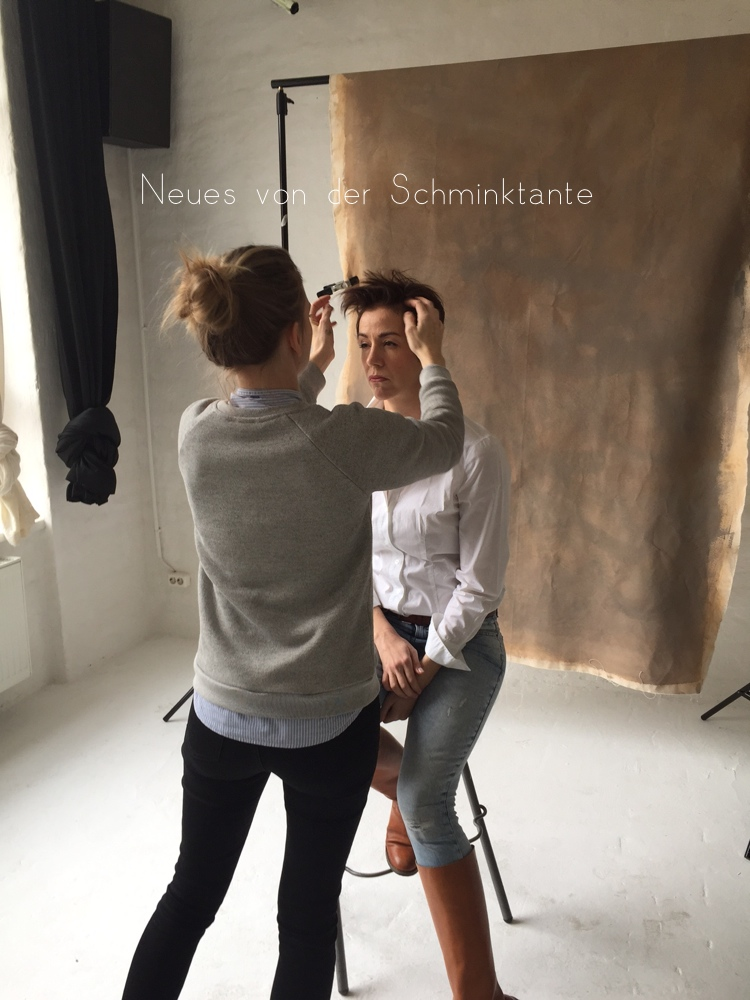 Lebenlang mit der Schminktante: Making of, Fotos: Ashley Ludaescher Haare & Make up: Lena Schleweis