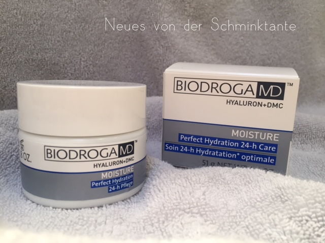 Biodroga MD - Verpackung und Cremedose