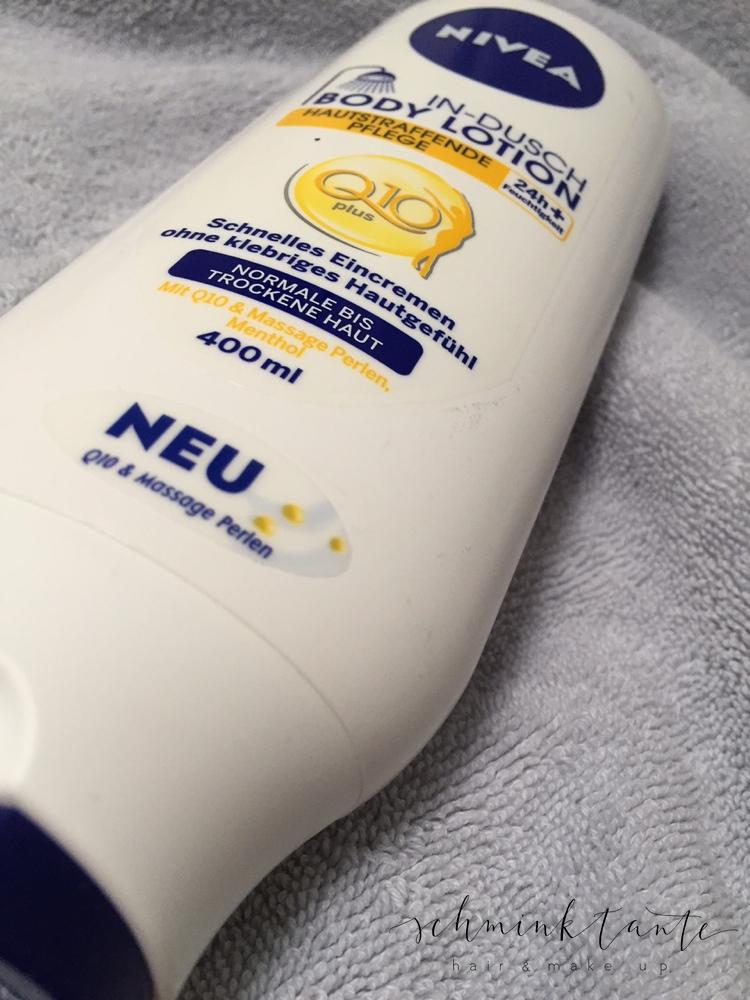 Nivea In Dusch Bodylotion - Hautstraffende Pflege - So sieht die Cremetube aus