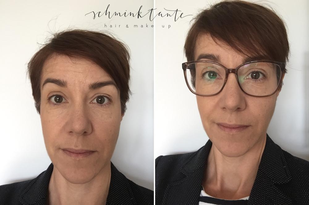 Brillen Make up