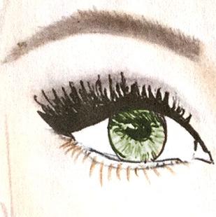 Grüne augen haarfarbe braun welche 3 Ideen