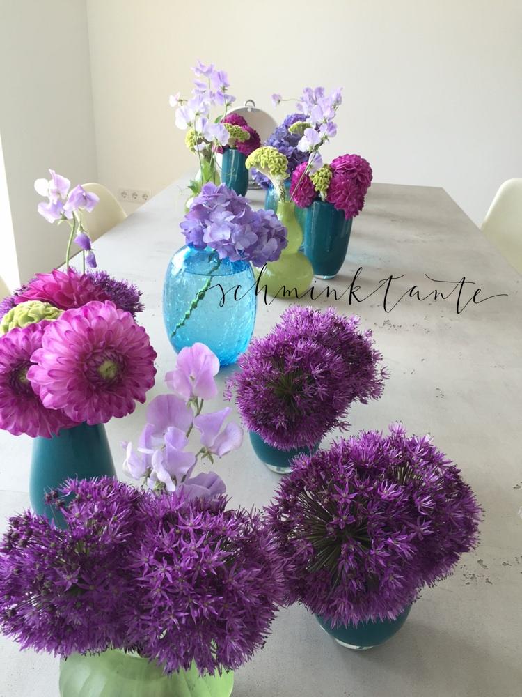 So schöne Blumendeko :-)