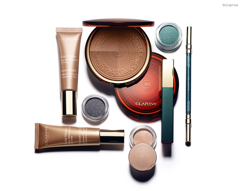 clarins, sommerlook, 2015, aquatic treasures look