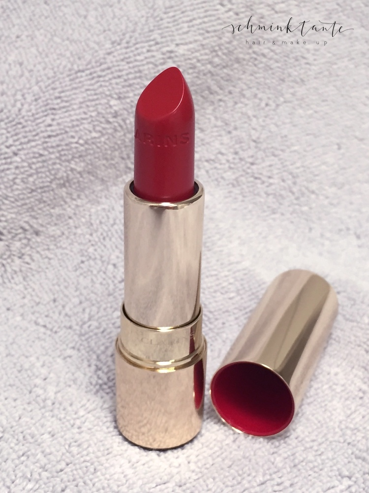 Lippen, Lippenstift, Joli Rouge, Clarins, rote Lippen, Rot