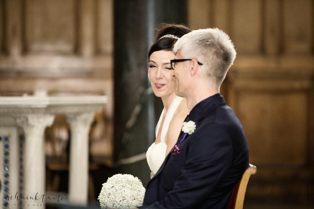 Mein Liebster und ich an unserem Hochzeitstag