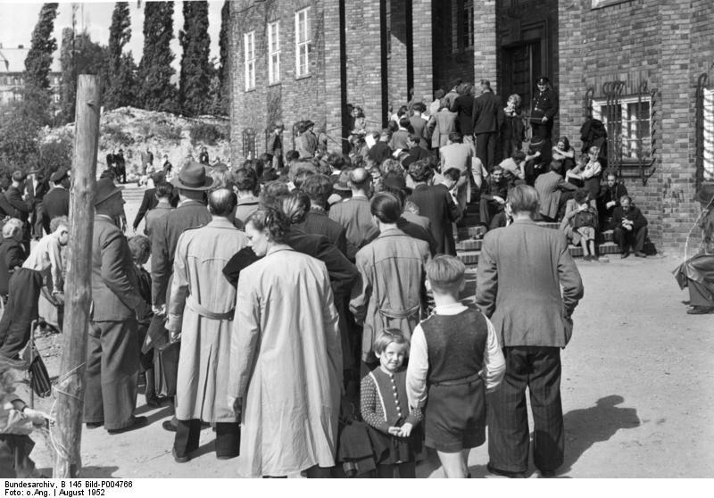 Berlin, Meldestelle für Ostflüchtlinge