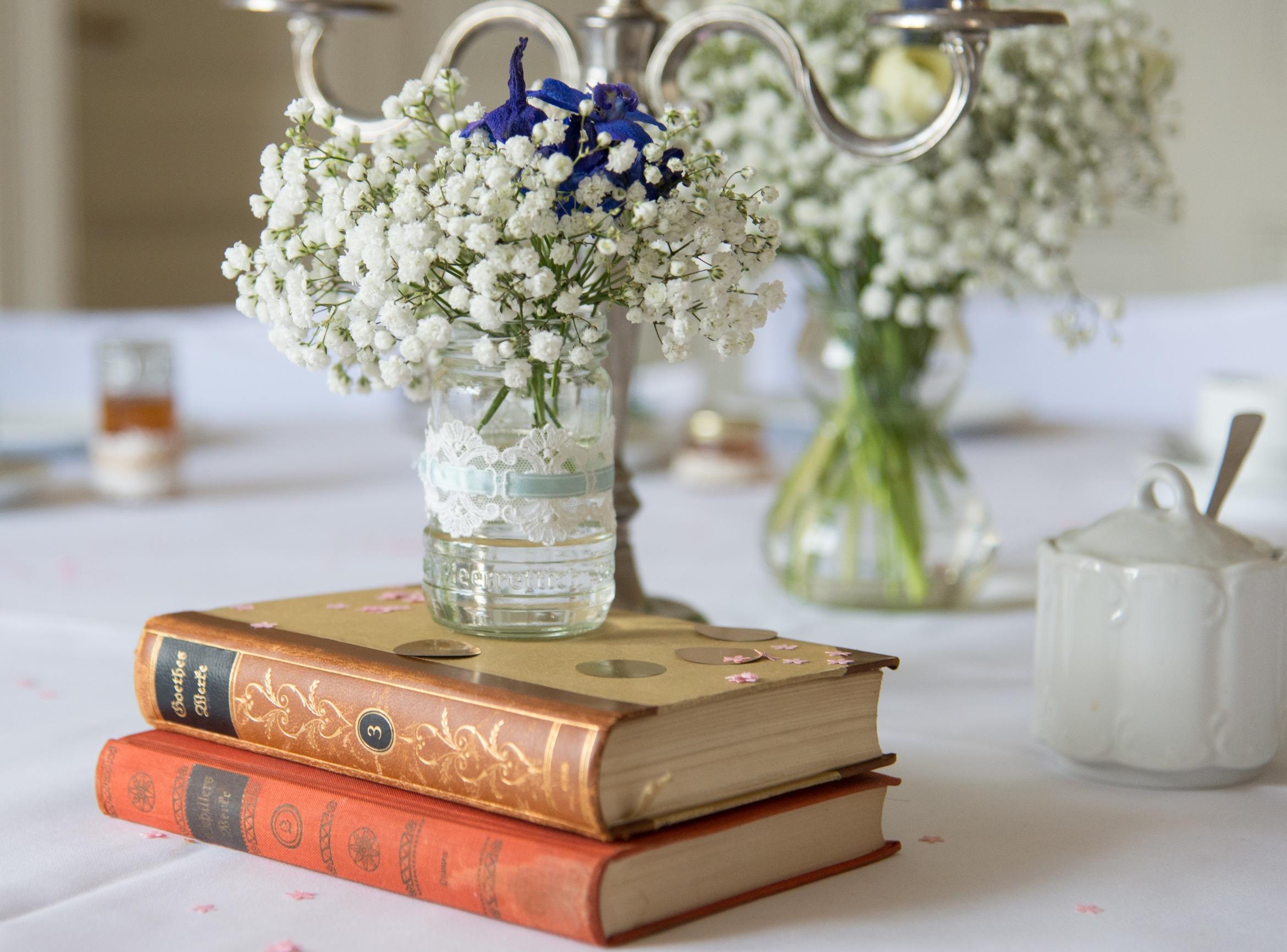 Brautsträuße und Blumen wie ich sie liebe - ganz in weiß