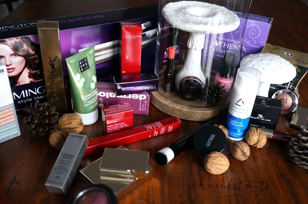 Adventsmarkt, Beauty, Verkauf, YSL, MAC, Clarins, Laura Mercier, Dermalogica, OPI