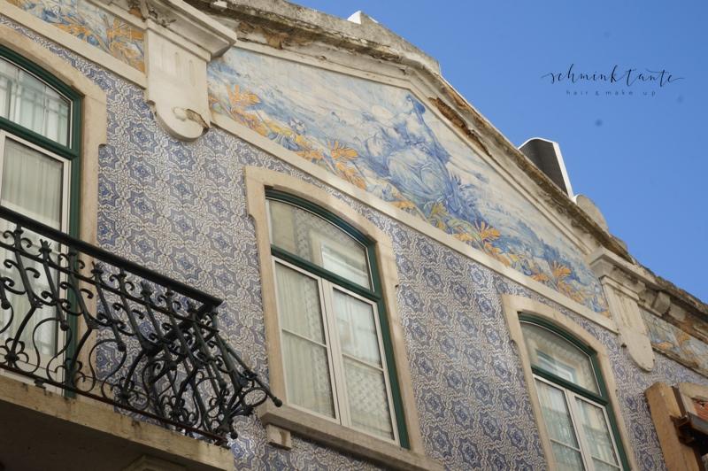 Azulejos, Kacheln, Fassade, Muster, Haus, Handwerk, Lisboa