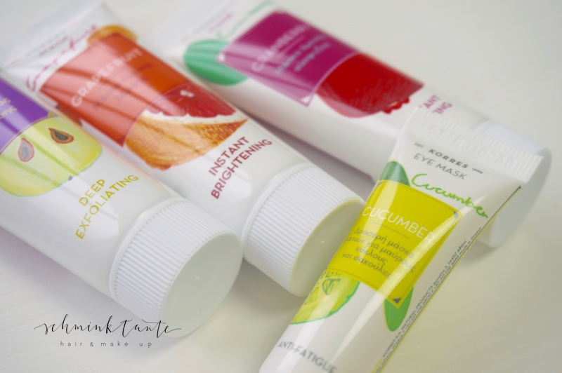 Beautyshots1, Korres, Hautpflege, bunt, Maske, Gesichtsmasken, Cucumber, Gesichtspflege, Schminktante, Beauty, Beautyblog