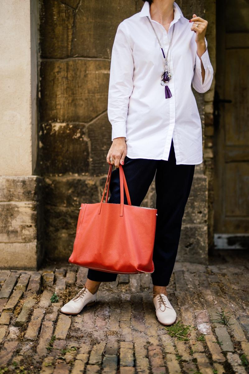 Boyfriendhemd, Hemd, Bluse, weiß, Outfit,