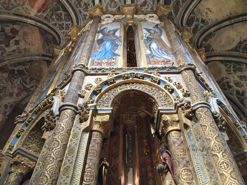 Convento de Cristo, Templer, Tomar, Burg, Castell, Mauern, Schloss, Portugal, Innenhof, Bögen, Steine, Kreuzgang, Kapelle, Oktagon, Barock