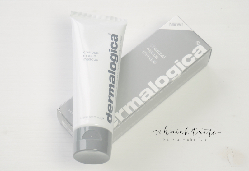Charcoal Rescue Mask, Dermalogica, Gesichtsmasken, Hautpflege, Produkt, Tube, weiß, grau, gesichtsmaske, Aktivkohle, Schminktante, Beauty, Beautyblog