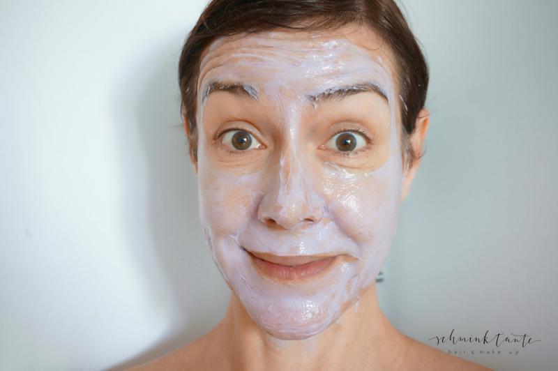 Gesichtsmaske von Clarins.