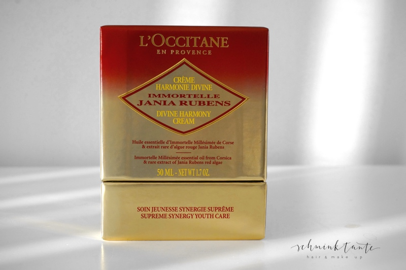 Créme Harmonie Divine von L'Occitane in der Luxus-Verpackung.