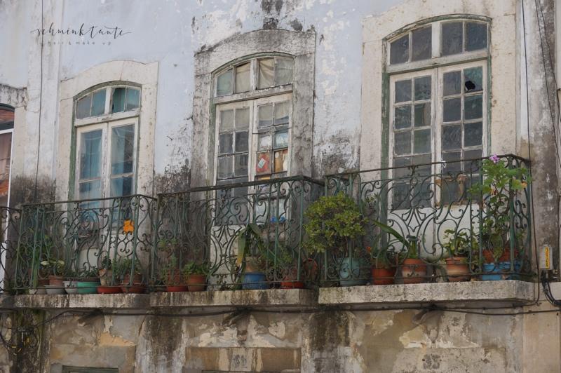 Fassade, Haus, Lissabon, Reise, Reiseblogger, Balkon