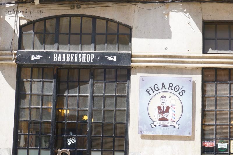 Fassade, Schaufenster, Barbershop, Friseur, beauty, Herrensalon, Salon, Reiseblog, Schminktante, Lissabon