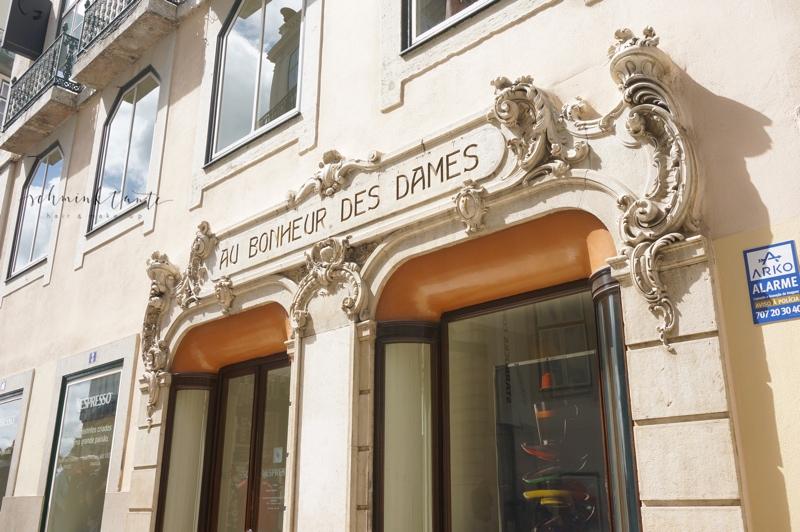 Fassade, Haus, Lissabon, Reise, Portugal, Au Bonheur des Dames, Haus