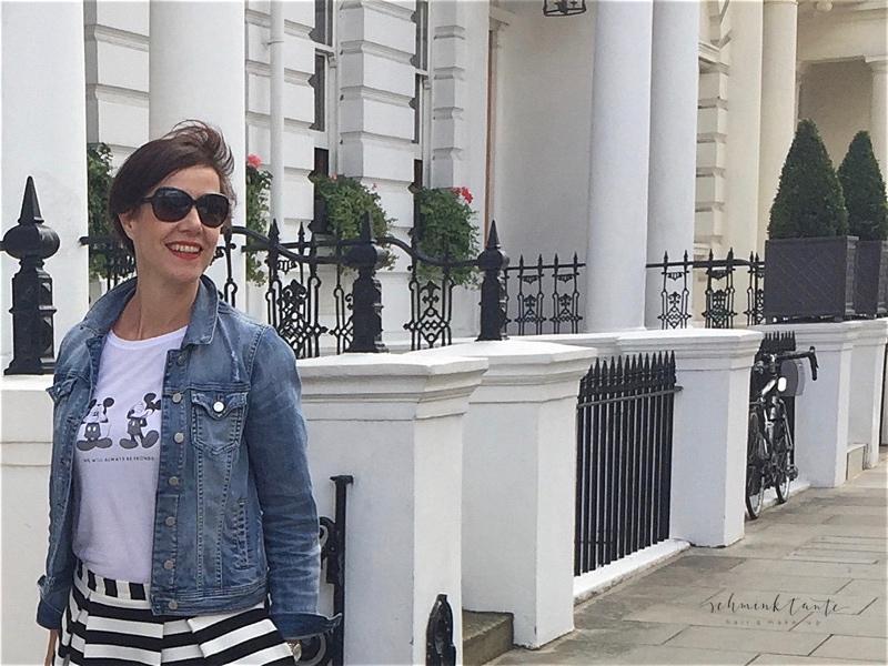 London bietet eine großartige Kulisse für die aktuelle Spätsommermode