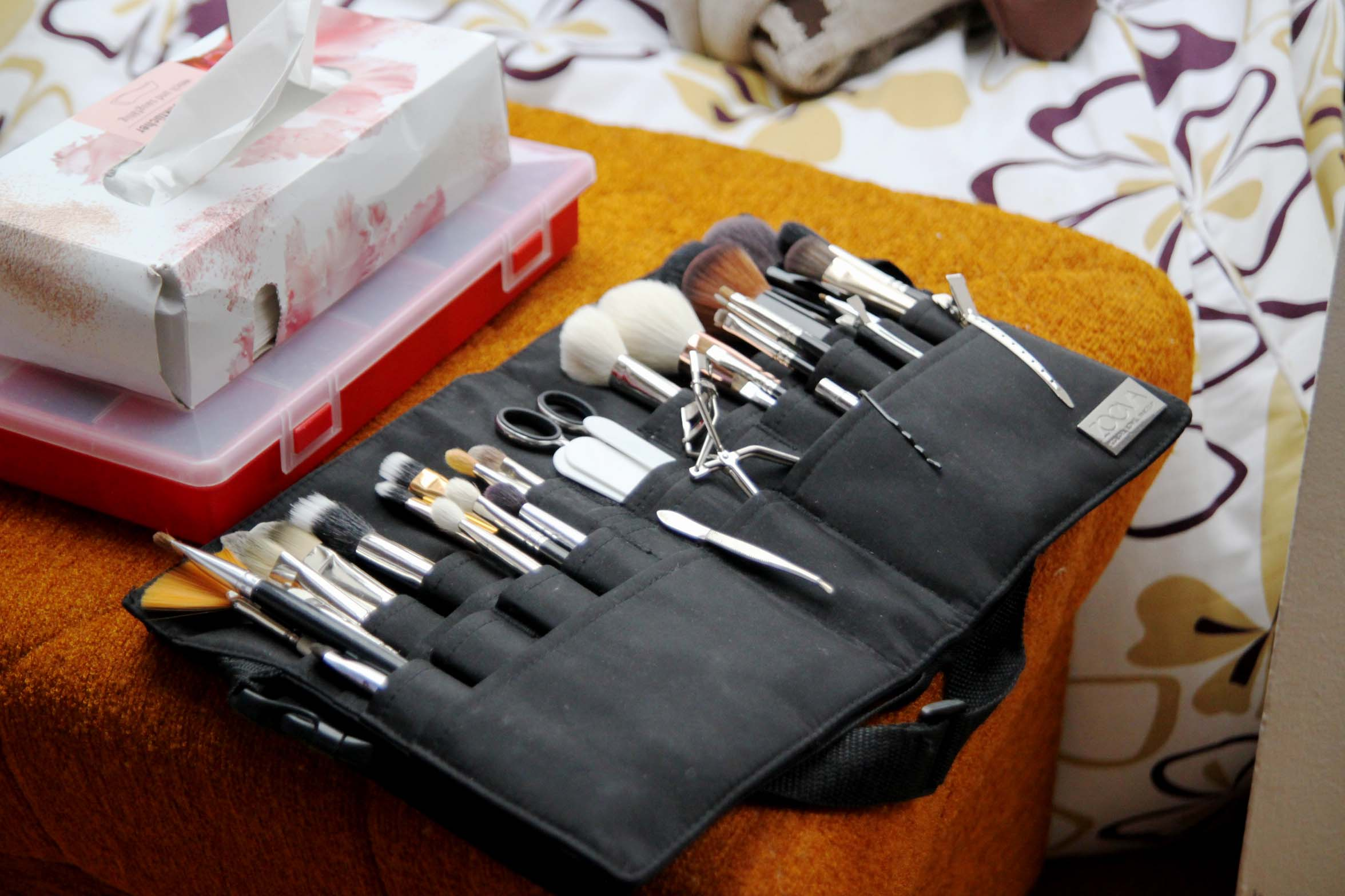 Make up, Pinseltasche, Make up Artist, Winterhochzeit