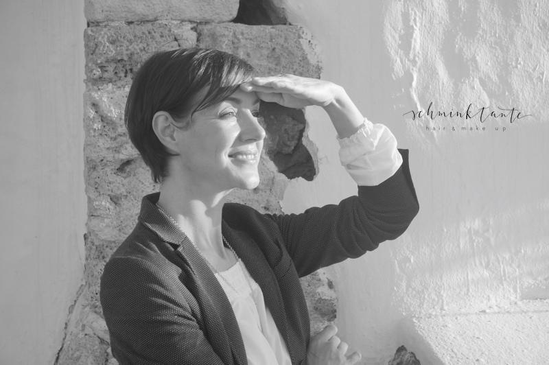 Lebenslust, Pläne, Lebensweisheit, Blick, Portraitfoto, Frau, Ü40, Alter, Schminktante, Anja Frankenhäuser