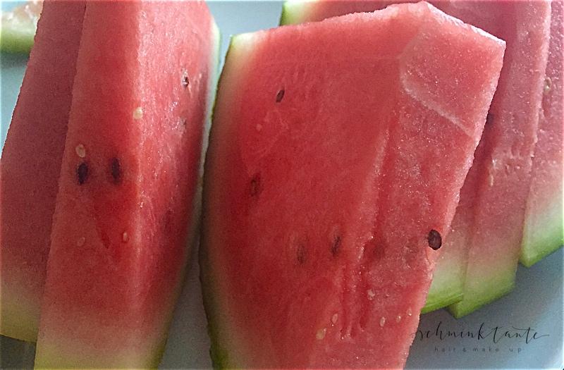 Melone, Obst, frucht, Hitze, Sommer, essen, kalt, schminktante, Ü40 Blog