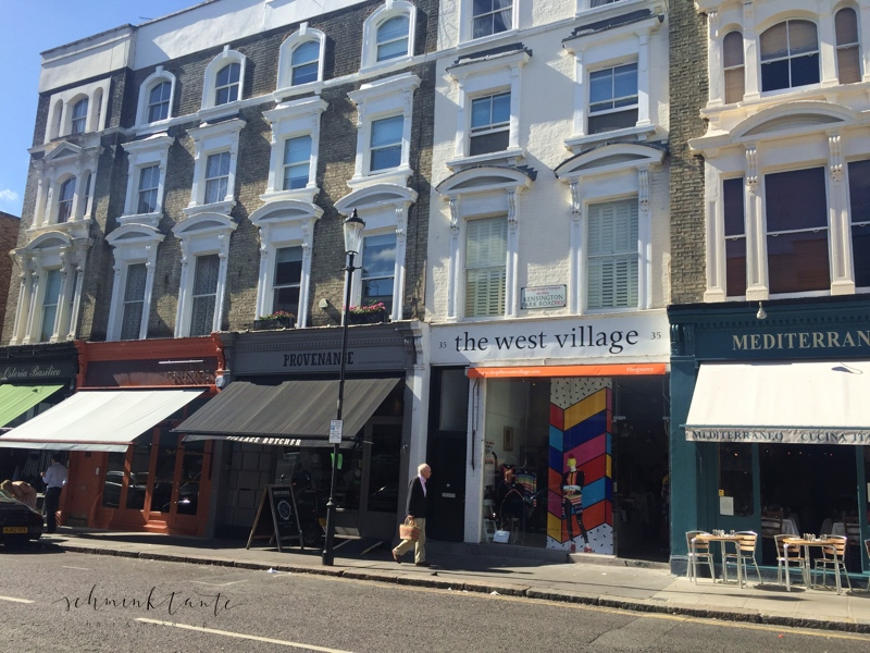 Geschäfte in Notting Hill.