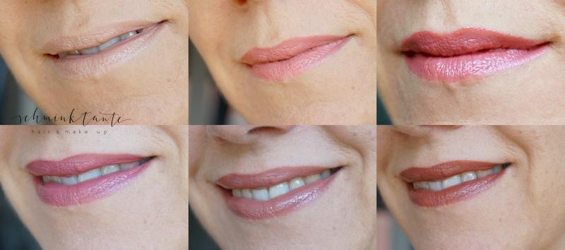 Color Riche von L'Oreal auf den Lippen, Tragebild.