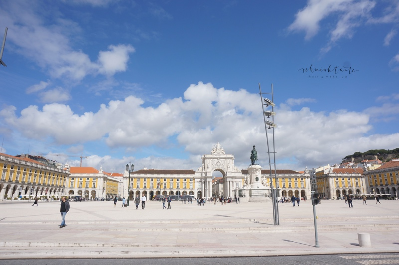 PracaCommercio, Platz, Lissabon, Reise, unterwegs