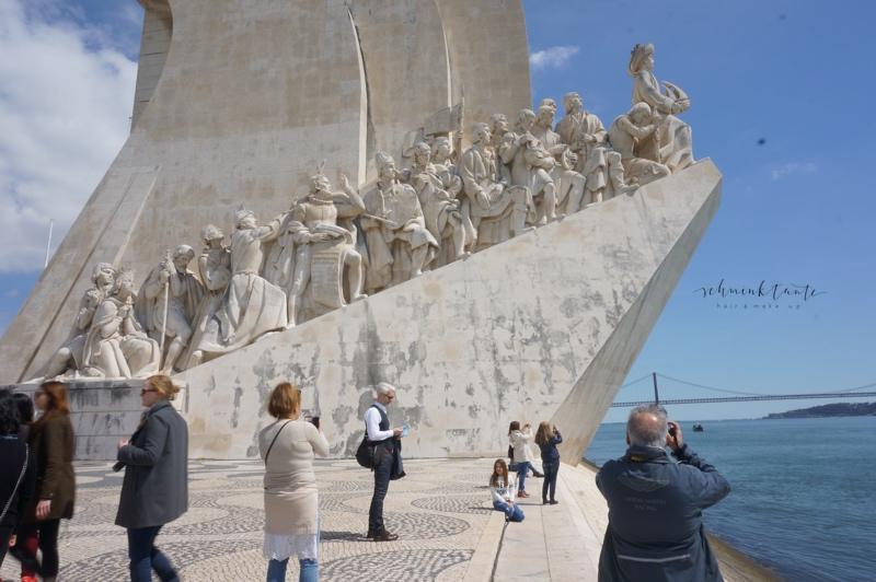 Pradao des Descobrimentos, Denkmal, Monument, Figuren, Lissabon, Reiseblog