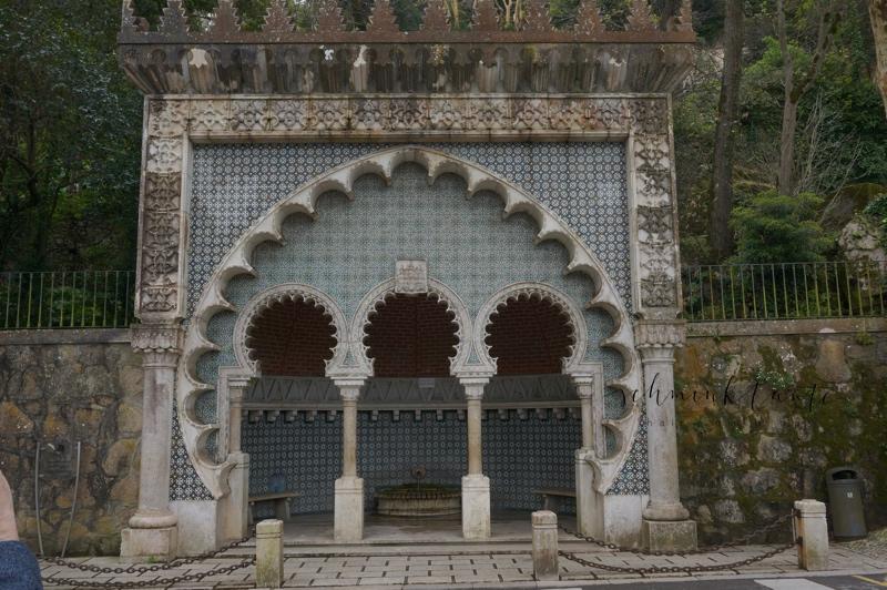 Sintra, Portugal, Ausflug, Reisen, Reiseblogger, Brunnen, Maurisch