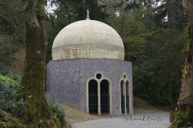 Sintra, Reise, Portugal, maurisch, Brunnenhaus, Tempel, Kuppel