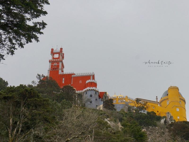Sintra, Palacio da Pena, Reisen, Travelblog