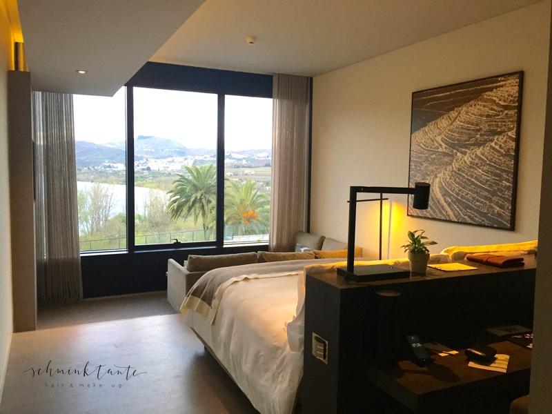 SixSenses, Hotelzimmer, Aussicht, Duoro Valley, Reiseblogger, Schminktante