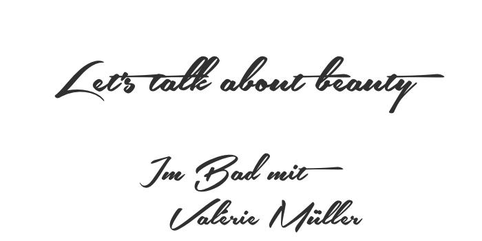 Im Bad mit Valérie Müller von life40up.