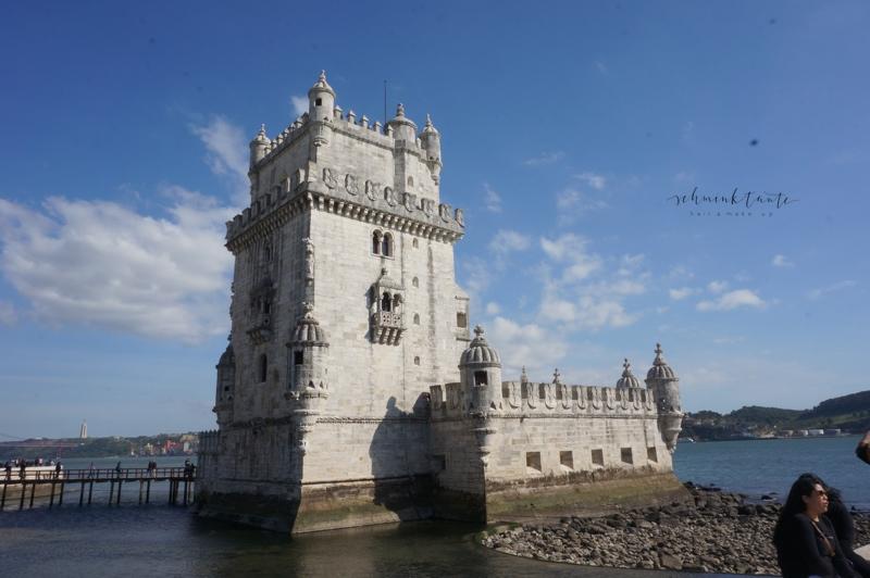 Torre de Belem, Lissabon, Architektur, Geschichte, Sehenswürdikteit, Turm, Tejo, Lissabon