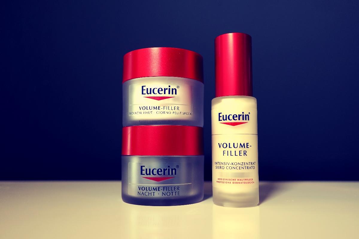 Verschiedene Eucerin Produkte.