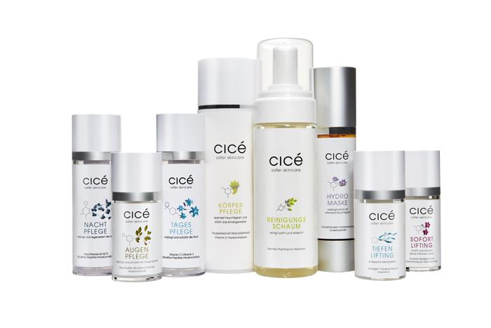 Cicé Safer Skincare, Anti Aging Hautpflege von Cicé, Februar-Aktion, Anti Aging Creme, Antifaltencreme, Wirkstoffkosmetik