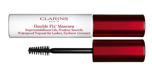 Definitiv in meinem Equipement für die Sommerhochzeiten: Clarins Double Fix Mascara & Fix Make up